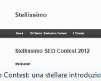 Stellissimo: la gara italiana per gli appassionati seo   Stellissimo seo contest   Scoop.it