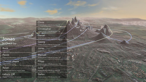 'Generating Utopia' by @andsynchrony - Transforming landscape using location-based behaviour of its residents | Procedural | Scoop.it