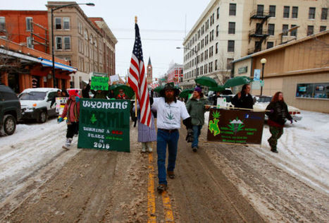 Pro-pot marchers march around Wyoming Capitol - Casper Star-Tribune Online | Pain Killer the weed | Scoop.it