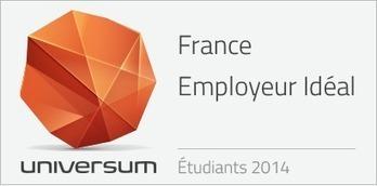 À quels employeurs nos étudiants français rêvent-ils en 2014 ? – Classements Universum | Marketing RH 2.0 & Marque employeur | Scoop.it