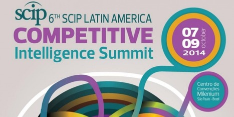 Cipher Will Attend 6th SCIP Latin America Summit, October 7-9, 2014 | Cipher | The Competitive Edge | Scoop.it