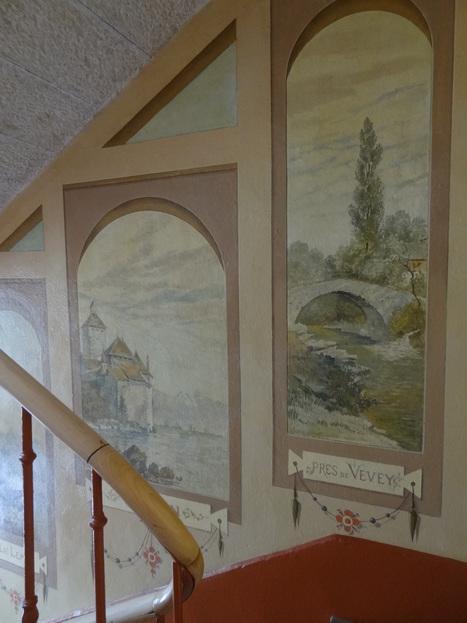 Cages d'escaliers Art nouveau   Sur les traces de Le Corbusier et de l'Art nouveau   Scoop.it