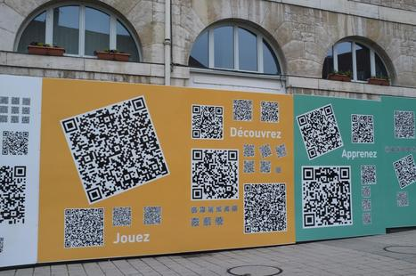 Invasion de QRcodes à Besançon | Realidad Aumentada | Scoop.it