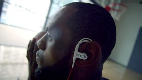 LeBron dans la dernière publicité de Beats | Coté Vestiaire - Blog sur le Sport Business | Scoop.it