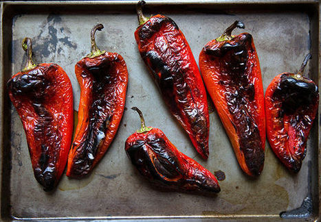 How to Peel a Pepper | Le Marche and Food | Scoop.it