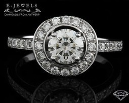 E-Jewels Jewellers Limerick. Halo Engagement Ring Ref 4937 - Perfect Engagement Rings Ireland   Engagement Rings 2013   Scoop.it