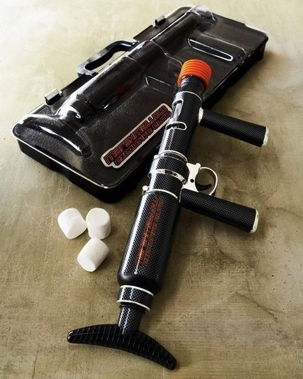 The Most Stylish Marshmallow Blaster You Will See All Day   All Geeks   Scoop.it