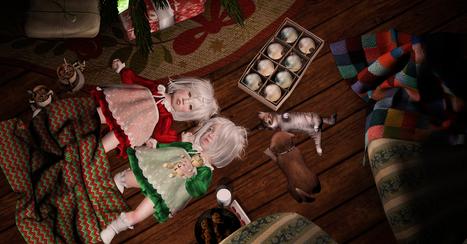 Waiting on Santa   亗 Second Life Kids Lookbook 亗   Scoop.it