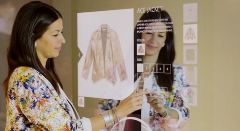 Connected fashion store adds online features to high street shopping | Digital & Mobile Landscape Asia Pac | Scoop.it