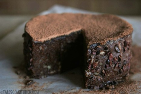 Chocolate banana cake with caramel layer and cacao nibs | Ricettine | Scoop.it