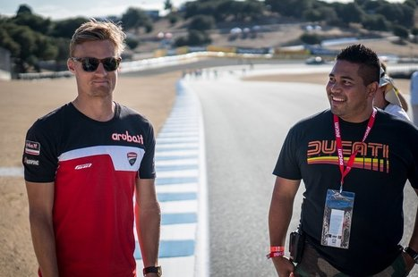 Behind the scenes at WSBK | Ductalk Ducati News | Scoop.it