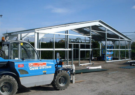 Steel Framed Buildings make Better Aircraft Hangars   A Home for your Aircraft   Scoop.it