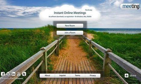 Meetingl, plataforma online gratuita para crear salas de videoconferencia en grupo | Recull diari | Scoop.it