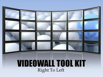 Video Wall Tool Kit - A PowerPoint Template | effective presentation | Scoop.it