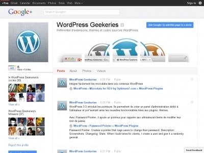 WP Google Plus Connect « Comment intégrer Google+ à votre blog WordPress | Time to Learn | Scoop.it