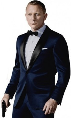 James Bond Midnight Blue Skyfall Tuxedo Suit | James Bond Midnight Blue Skyfall Tuxedo Suit | Scoop.it