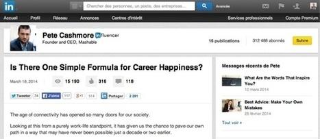 Vous pourrez publier des articles dans LinkedIn au même titre que les influenceurs | Reseaux sociaux professionnels...pourquoi faire ? | Scoop.it