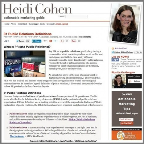 Why You Need Earned Media In Your Marketing And PR Mix - Heidi Cohen | Paid, Owned and Earned | Scoop.it