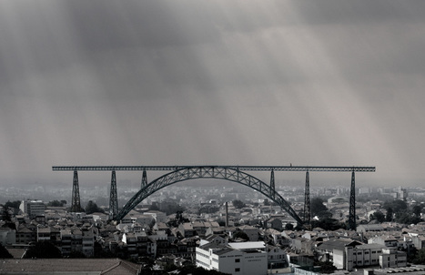 Portuguese architects want to move a 136-year-old bridge to revive their city | Adamastor | Scoop.it