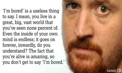 How To Live A Happy Life: Louis CK Explains The Science | All About Coaching | Scoop.it
