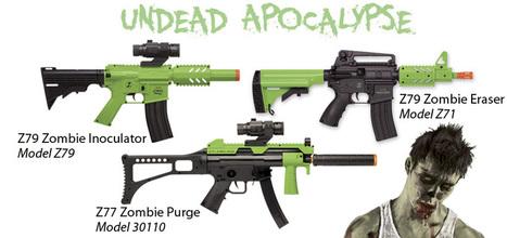 Crosman Introduces Three New Undead Apocalypse Zombie AEG ... | Walker Wargame | Scoop.it