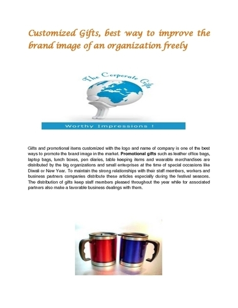 Corporate gifts suppliers - PDF | Corporate Gifts | Scoop.it