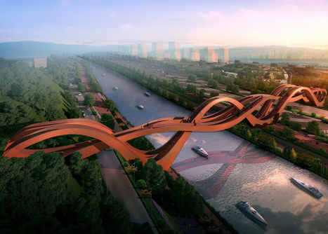 Sinuous structure by NEXT architects wins Chinese bridge competition | Urbanisme | Scoop.it