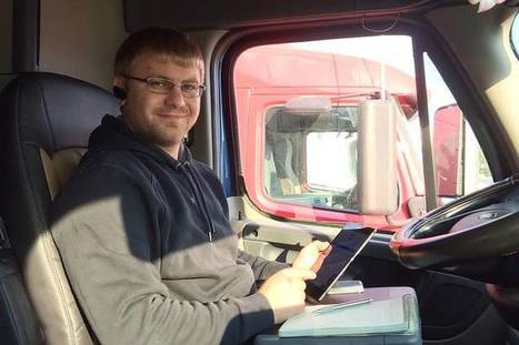 Mobile Apps Get Picked Up by Independent Truckers for Better Routes - Wall Street Journal | Mobile Marketing | News Updates | Scoop.it