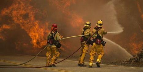 Un violent incendie au nord de Los Angeles menace des quartiers résidentiels | Planete DDurable | Scoop.it