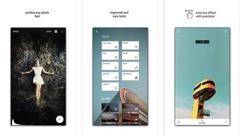 Snapseed 2 ha llegado. El Mejor Editor fotográfico para tu smartphone | AppAndroid | Scoop.it
