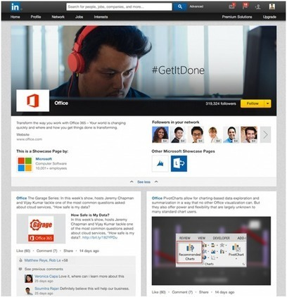 New LinkedIn Showcase Pages, What Marketers Need to Know | The Digital Change | Scoop.it