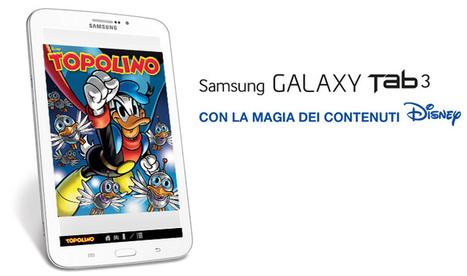 Manuale Italiano Galaxy Tab 3 SM-T210 con la magia dei contenuti Disney | AllMobileWorld Tutte le novità dal mondo dei cellulari e smartphone | Scoop.it