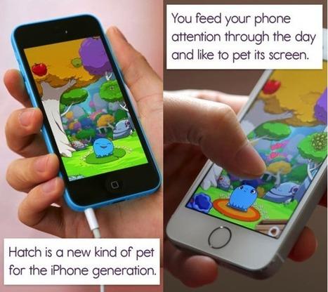 Hatch, la nueva mascota virtual para iPhone | tecnología | Scoop.it