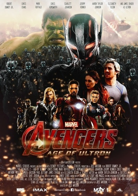 The Avengers: Age Of Ultron is #1 Worldwide! | Travel & Hospitality | Scoop.it
