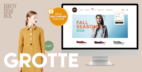 FREE WordPress theme : Grotte - Dedicated WooCommerce | Design Freebies & Deals | Scoop.it