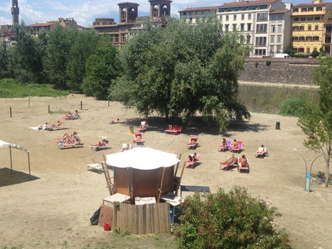 Estate 2015 a Firenze: apre la spiaggia sull'Arno | Travel Guide about Florence and Tuscany | Scoop.it