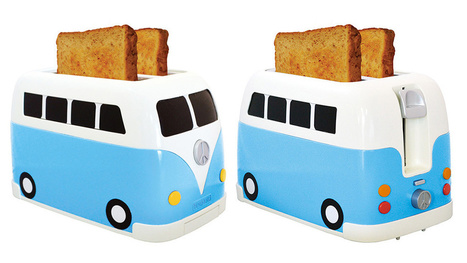 A Camper Van Toaster: Because Even Hippies Love Toast | Procrastination Daily | Scoop.it