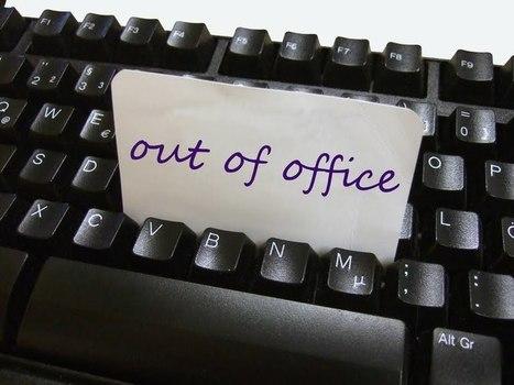 Top 10 des messages automatiques d'absence au bureau un peu plus originaux | Facile à vivre | Scoop.it