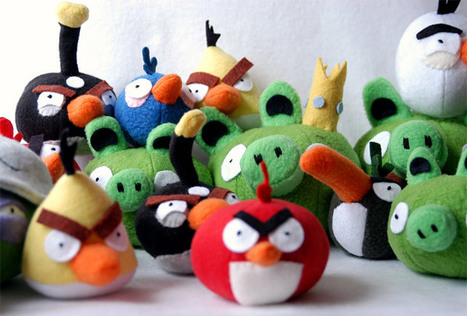 Angry Birds Get Crafty, Plush and Stuffed with Rice | Angry Birds | Scoop.it