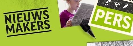 NieuwsMakers | KlasseTV NieuwsMakers | lespakket | Info Mediawijsheid leerkracht: Mediawijsheid PO | Scoop.it