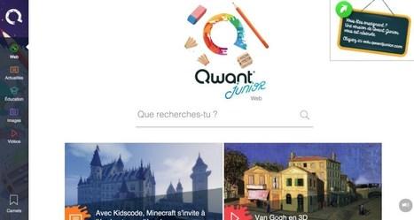 Qwant Junior. Un moteur de recherche pour les enfants | Les outils du Web 2.0 | Scoop.it