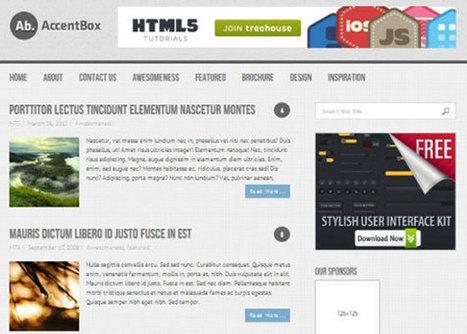 25 Free Minimal Responsive WordPress Themes | web3mantra | Wordpress templates | Scoop.it