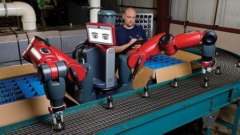 'Cobots' - robots that work side-by-side with humans - enhance robotic manufacturing and throughput | Amazing Science | Scoop.it