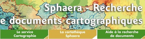 SPHAERA - BASE DE DONNÉES DE DOCUMENTS CARTOGRAPHIQUES DE L'IRD | GeoWeb OpenSource | Scoop.it