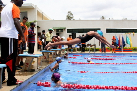Inventurer, Saloni Dalal takes the BRONZE for the Karnataka Swimming Team for National Games 2015! | School | Scoop.it