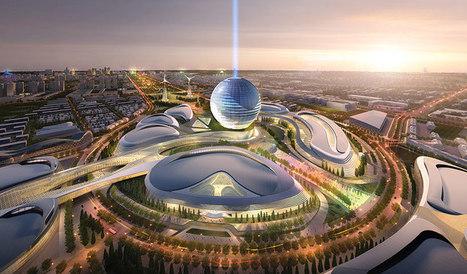 adrian smith and gordon gill release plans for the 2017 expo- future energy - designboom | architecture & design magazine | Architecture MIPIM | Scoop.it