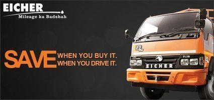 Eicher 11.10   Commercial vehicle in India   Light Trucks     Fuel Efficient Trucks   Scoop.it
