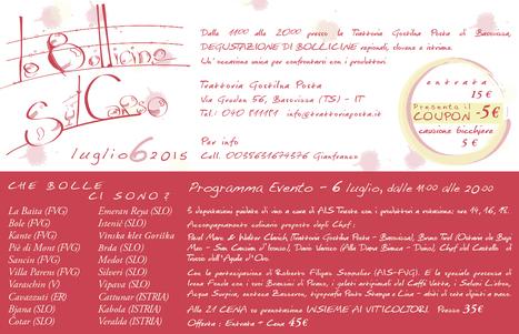 BOLLICINE TRASFRONTALIERE, SPUMANTI DI QUA E DI LA' DEL CONFINE. | SPEAKING OF WINE | Scoop.it