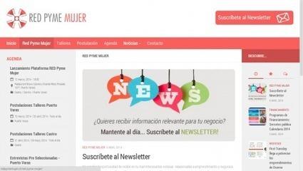 Lanzan plataforma internet de Pyme Mujer | SurNoticias.cl / Agencia ... | empresarial de mujeres | Scoop.it