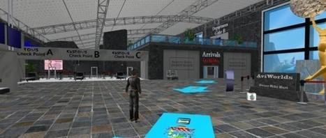 AviWorlds New Airport Welcome Center | Corran Journal | Virtual Worlds  - Inworldz, Metropolis, Avination, Opensim, Kitely, Craft World and  more  in  the Metaverse | Scoop.it